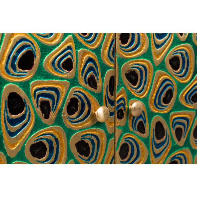 Dutchbone Opbergkast 'Meena' Mangohout, 80 x 95cm