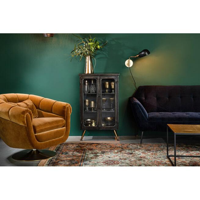Dutchbone Opbergkast 'Denza' Vintage Finish, 100 x 60cm
