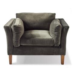 Rivièra Maison Loveseat 'Forsyth' Velvet, kleur Slate Grey