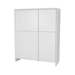 Tenzo Opbergkast 'Profil' 150 x 120cm, kleur Wit