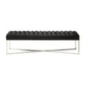 Rivièra Maison Halbank 'Thompson' Velvet, kleur Black