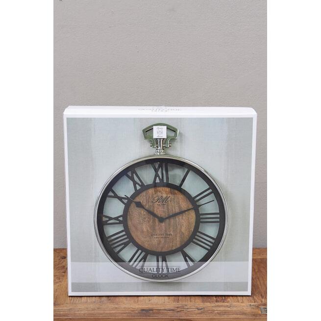 Rivièra Maison Wandklok 'Quality Time'