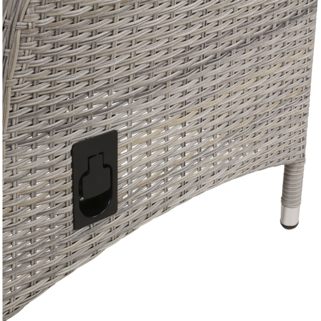 YardLife Verstelbare Tuinstoel 'Soho Brick'