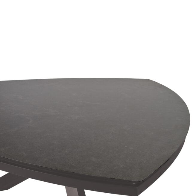 YardLife Tuintafel 'Mojito Pardo' driehoek, 170 x 170cm
