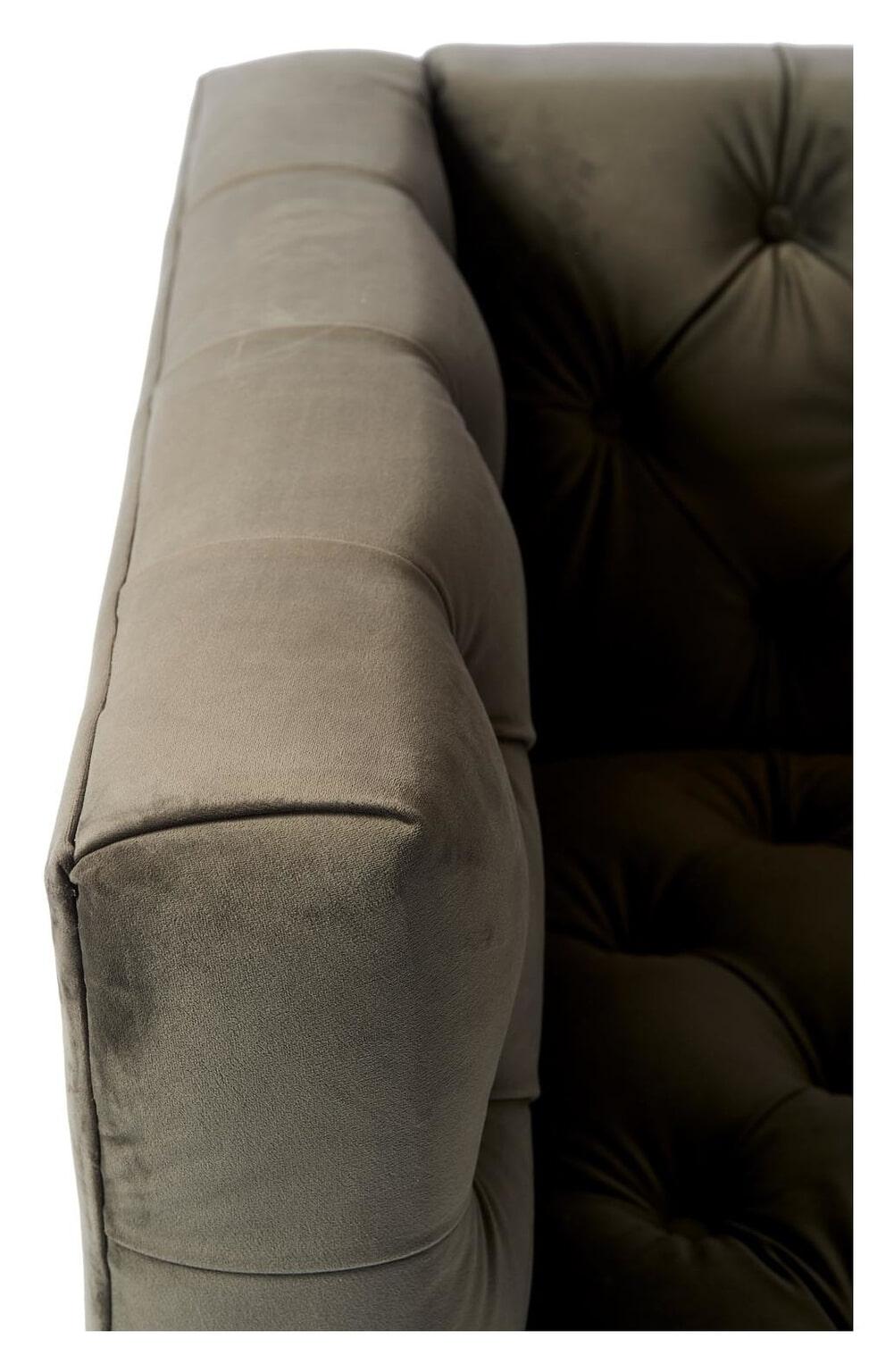 Wondrous Riviera Maison Loveseat Ocean Park Velvet Kleur Slate Grey Machost Co Dining Chair Design Ideas Machostcouk