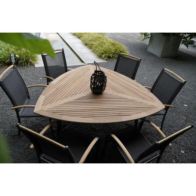 YardLife Tuintafel 'Monza' driehoek, 170 x 170cm