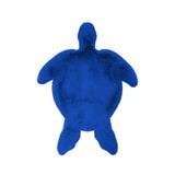 Kayoom Vloerkleed 'Schildpad' kleur Blauw, 68 x 90cm