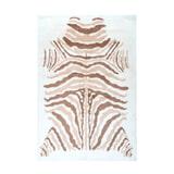 Kayoom Vloerkleed 'Rabbit Animal' kleur ivoor / bruin, 160 x 230cm