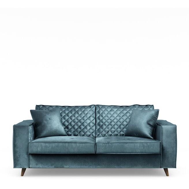 Rivièra Maison 2,5-zits Bank 'Kendall' Velvet, kleur Petrol