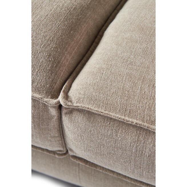 Rivièra Maison 2,5-zits Bank 'Kendall' Cotton, kleur Natural