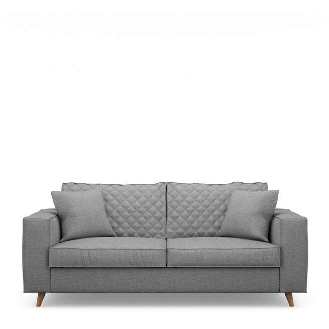 Rivièra Maison 2,5-zits Bank 'Kendall' Cotton, kleur Grey