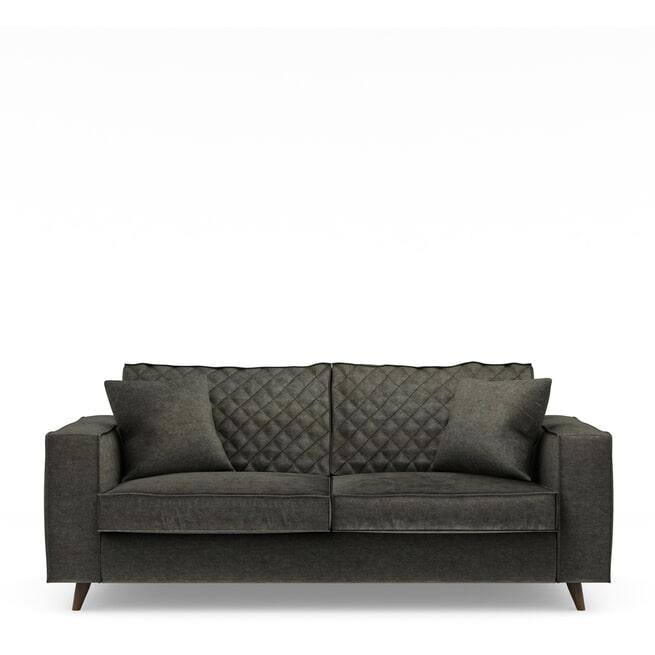 Rivièra Maison 2,5-zits Bank 'Kendall' Velvet, kleur Shadow