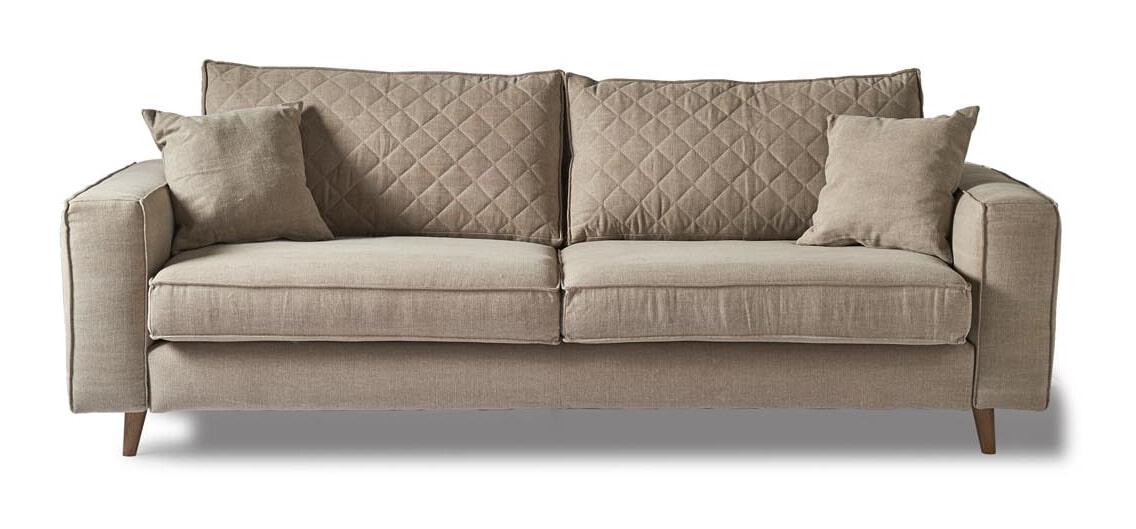 Riviera Maison 3,5-zits Bank 'Kendall' Cotton, kleur Natural