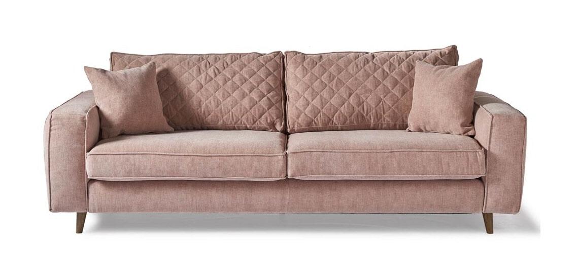 Rivièra Maison 3,5-zits Bank 'Kendall' Velvet, kleur Blossom