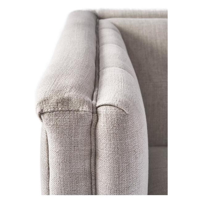 Rivièra Maison Loveseat 'Radziwill' Linen, kleur Fabulous Flax