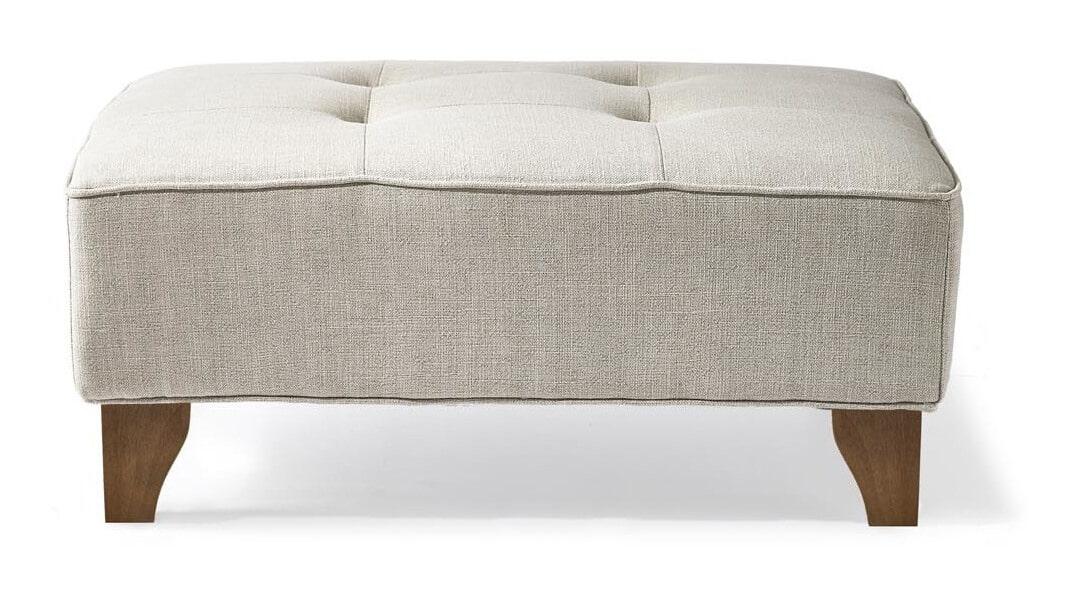 Riviera Maison Hocker 'Radziwill' Linen, kleur Fabulous Flax