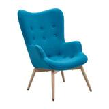 Artistiq Fauteuil 'Janna' kleur Blauw
