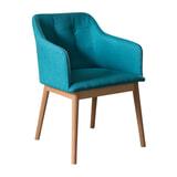Artistiq Eetkamerstoel 'Mollie' kleur Turquoise