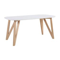 Artistiq Ovale Eettafel 'Ravi' kleur wit