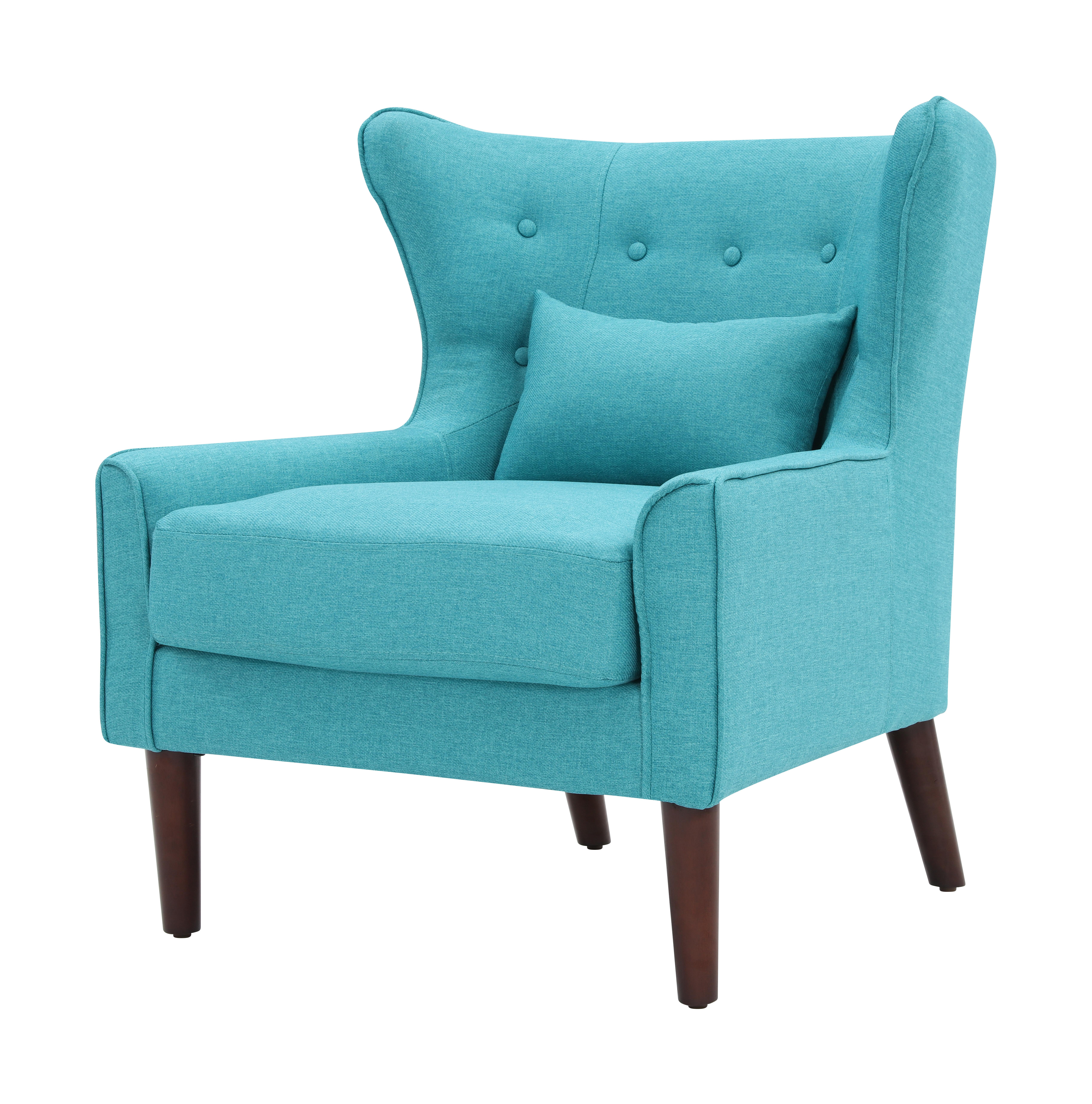 Artistiq Fauteuil 'Carol' kleur Turquoise