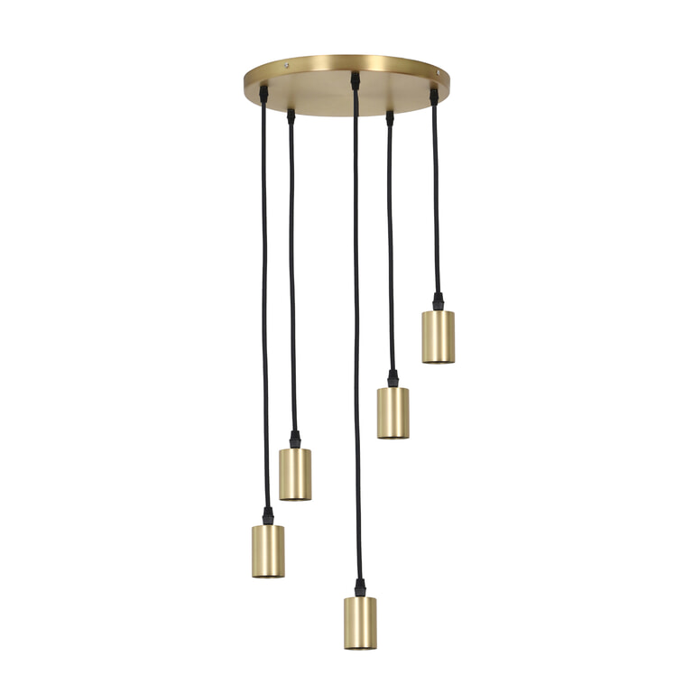 Light & Living Hanglamp 'Brandon' kleur brons