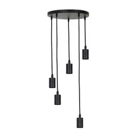 Light & Living Hanglamp 'Brandon' kleur zwart