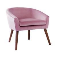 Artistiq Fauteuil 'Rosa' Velvet, kleur Roze