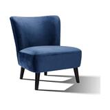 Artistiq Fauteuil 'Bowi' Velvet, kleur Blauw