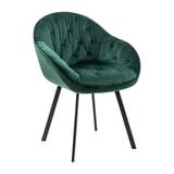 Artistiq Eetkamerstoel 'Gaia' Velvet, kleur Groen