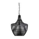 Light & Living Hanglamp 'Stella' Ø38cm, kleur Mat Zwart