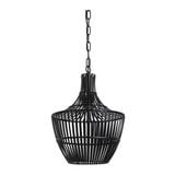 Light & Living Hanglamp 'Stella' Ø47cm, kleur Mat Zwart