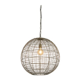 Light & Living Hanglamp 'Mirana' Ø55cm, kleur Antiek Brons