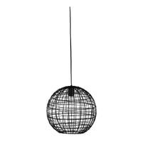 Light & Living Hanglamp 'Mirana' Ø35cm, kleur Mat Zwart