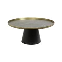 Light & Living Salontafel 'Popeta' Ø75cm, kleur Antiek Brons