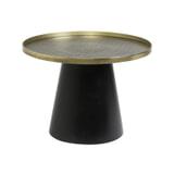Light & Living Salontafel 'Popeta' Ø60cm, kleur Antiek Brons