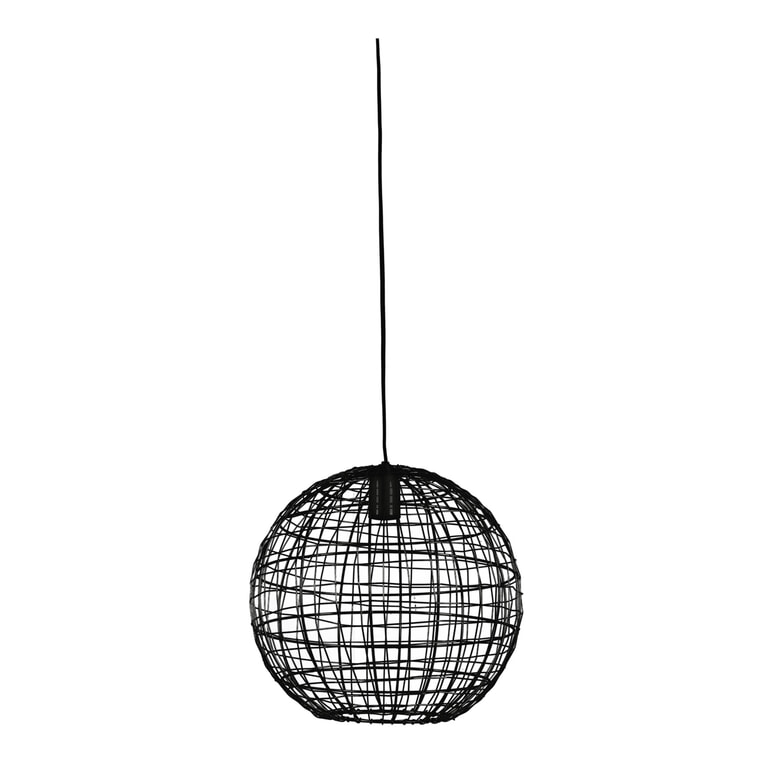 Light & Living Hanglamp 'Mirana' kleur zwart