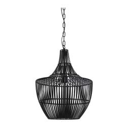 Light & Living Hanglamp 'Stella' kleur zwart