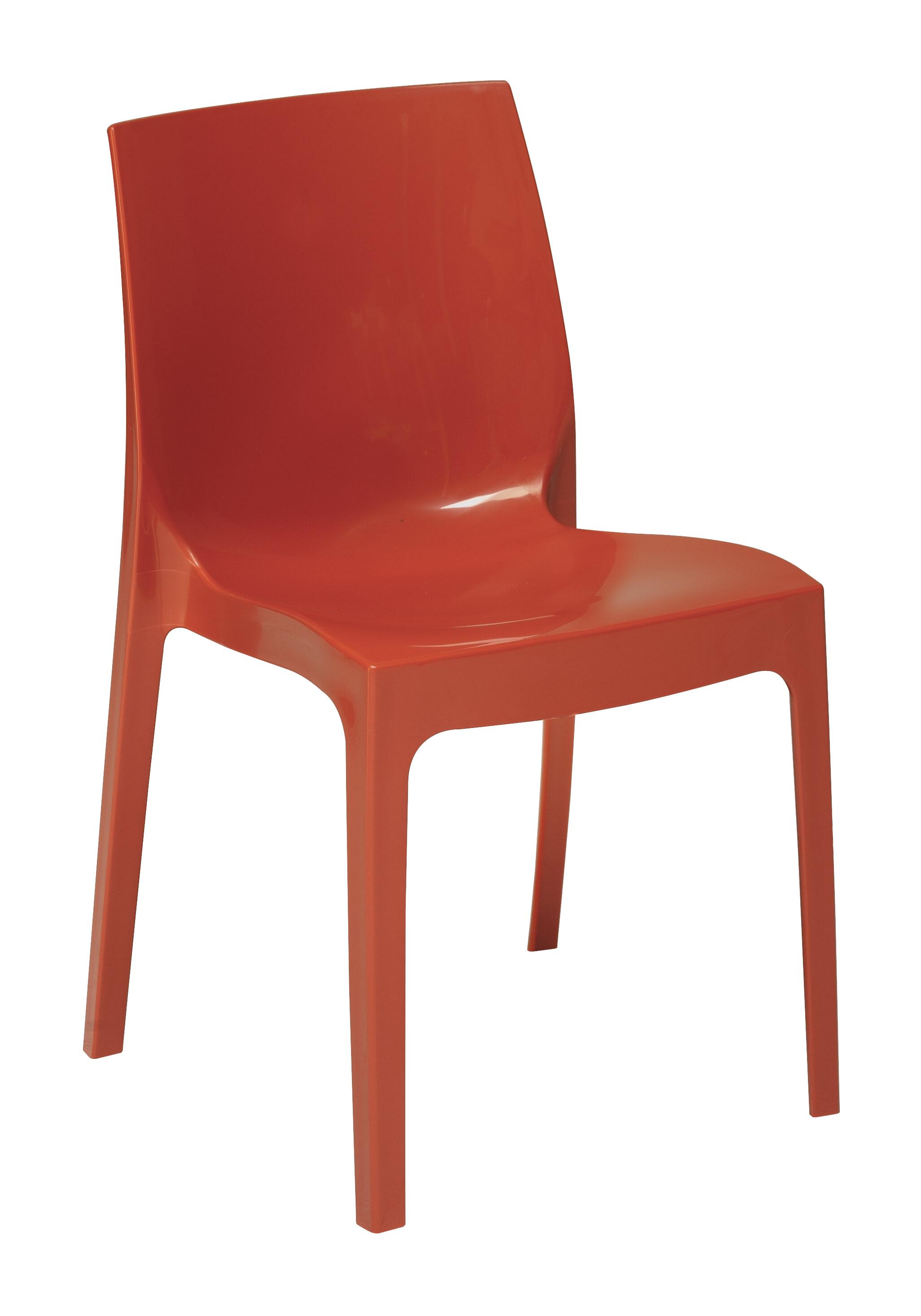 Artistiq Eetkamerstoel 'Tammie' kleur Rood