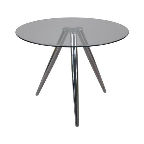Artistiq Eettafel 'Shanna' Glas, 100cm