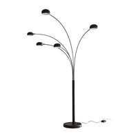 Artistiq Vloerlamp 'Gregor' 5-lamps, kleur Zwart