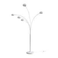 Artistiq Vloerlamp 'Gregor' 5-lamps, kleur Wit
