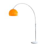 Artistiq Vloerlamp 'Duco' 208cm, kleur Oranje