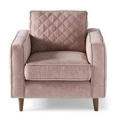 Rivièra Maison Fauteuil 'Kendall' Velvet, kleur Blossom