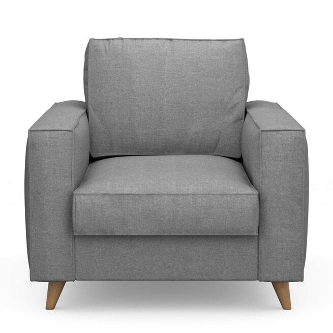 Rivièra Maison Fauteuil 'Kendall' Cotton, kleur Grey