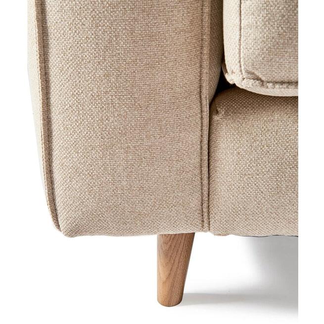 Rivièra Maison 2,5-zits Bank 'Kendall' Oxford Weave, kleur Anvers Flax