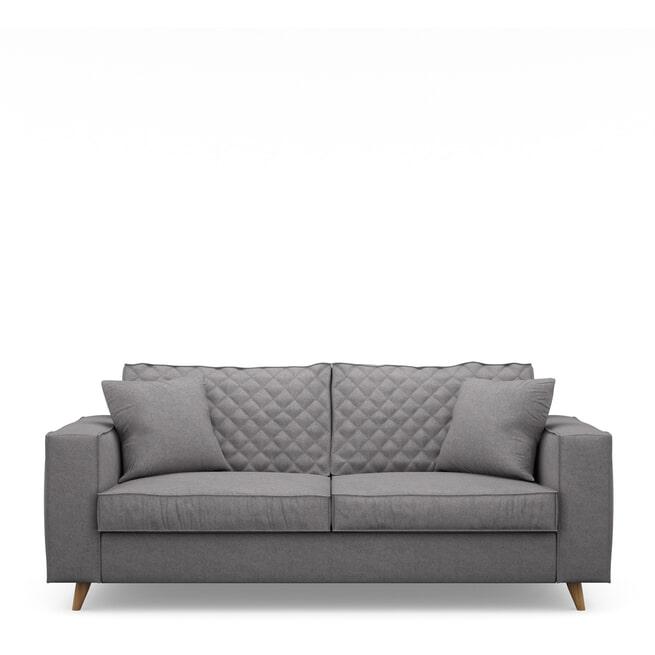 Rivièra Maison 2,5-zits Bank 'Kendall' Oxford Weave, kleur Steel Grey