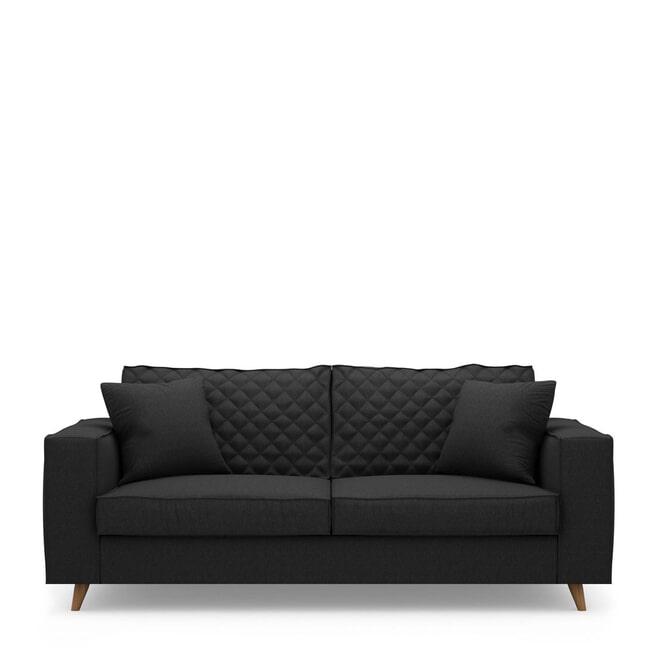 Rivièra Maison 2,5-zits Bank 'Kendall' Oxford Weave, kleur Basic Black