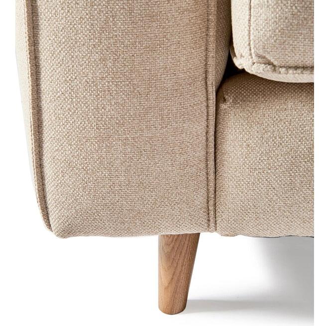 Rivièra Maison 3,5-zits Bank 'Kendall' Oxford Weave, kleur Anvers Flax
