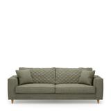 Rivièra Maison 3,5-zits Bank 'Kendall' Oxford Weave, kleur Forest Green