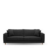 Rivièra Maison 3,5-zits Bank 'Kendall' Oxford Weave, kleur Basic Black